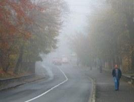 Водителей предупреждают о густом тумане в Киеве